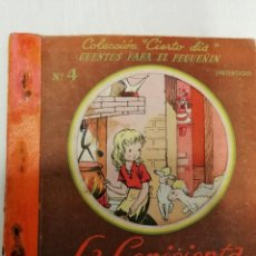 Libros: COLECCIÓN *CIERTO DIA* LA CENICIENTA Nº4 EDITORIAL ROMA. Lote 185712485