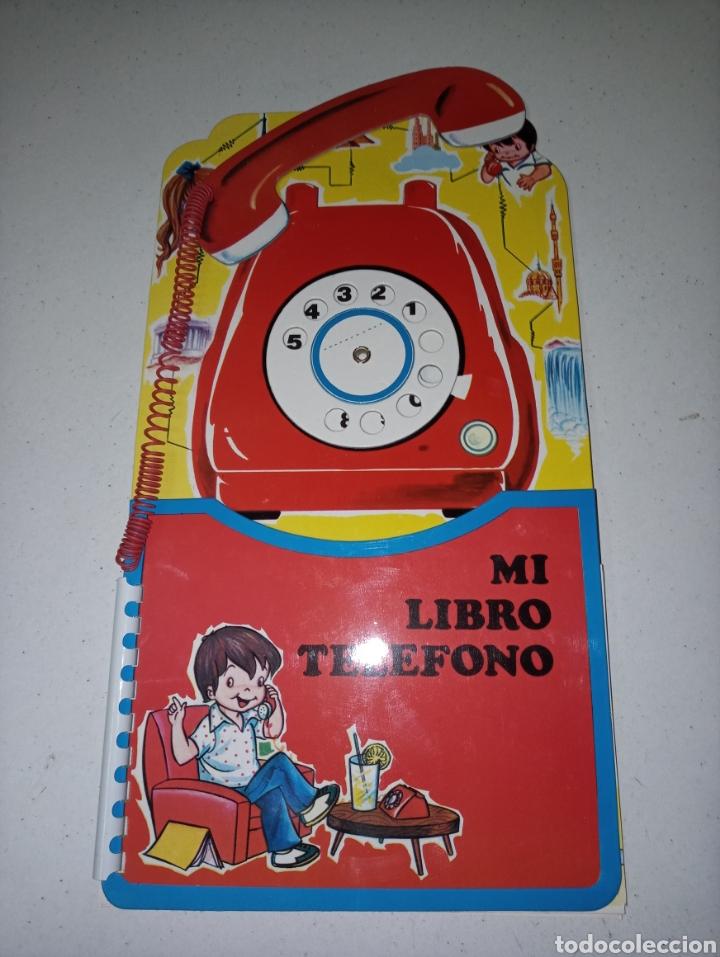 MI LIBRO TELEFONO (Libros Nuevos - Literatura Infantil y Juvenil - Cuentos infantiles)