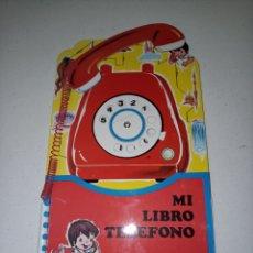 Libros: MI LIBRO TELEFONO. Lote 185757581