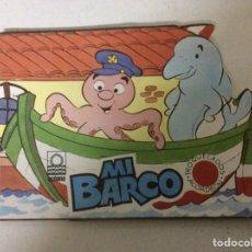 Libros: MI BARCO- CUENTOS TROQUELADOS ACORDEÓN; ED. OCÉANO 1983. Lote 185757878