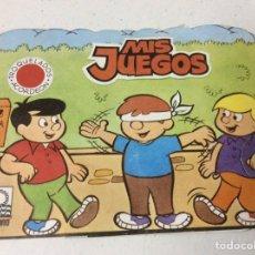Libros: MIS JUEGOS - CUENTOS TROQUELADOS ACORDEÓN; ED. OCÉANO 1983. Lote 185757925