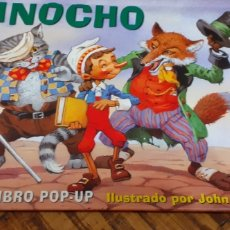 Libros: PINOCHO- POP UP- TROQUELADO. Lote 186236692