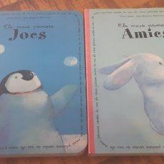 Libros: 2 LLIBRES - ELS MEUS PRIMERS JOCS -ELS MEUS PRIMERS AMICS -NORIS KERN - JEAN BAPTISTE BARONIAN. Lote 186270536