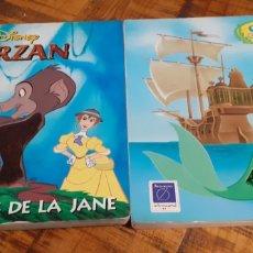 Libros: LA SIRENITA - TARZAN - DISNEY. Lote 186264975