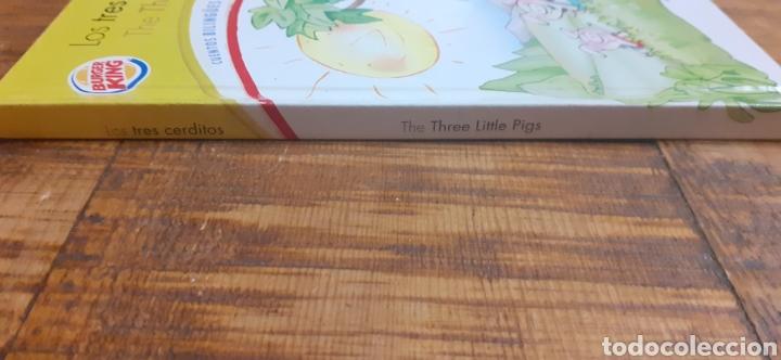 Libros: 2 LIBROS BURGUER KING-LOS TRES CERDITOS- CAPERUCITA ROJA - Foto 4 - 186436812