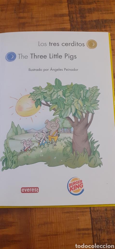 Libros: 2 LIBROS BURGUER KING-LOS TRES CERDITOS- CAPERUCITA ROJA - Foto 5 - 186436812