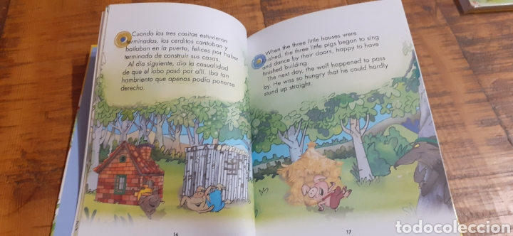 Libros: 2 LIBROS BURGUER KING-LOS TRES CERDITOS- CAPERUCITA ROJA - Foto 13 - 186436812