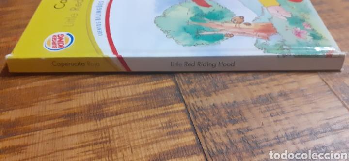 Libros: 2 LIBROS BURGUER KING-LOS TRES CERDITOS- CAPERUCITA ROJA - Foto 17 - 186436812