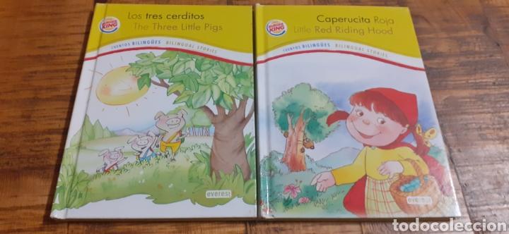 2 LIBROS BURGUER KING-LOS TRES CERDITOS- CAPERUCITA ROJA (Libros Nuevos - Literatura Infantil y Juvenil - Cuentos infantiles)