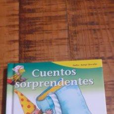 Libros: CUENTOS SORPRENDENTES - LEE CON GLORIA FUERTES. Lote 186445567