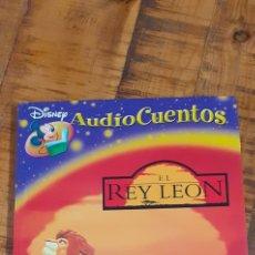 Libros: AUDIO CUENTOS- DISNEY-EL REY LEON- SIN CD. Lote 186945773