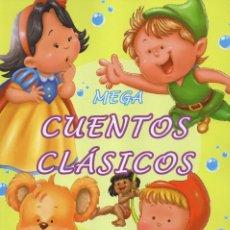 Libros: MEGA CUENTOS CLASICOS - CONTIENE 6 CUENTOS CLASICOS (NUEVO). Lote 190207962