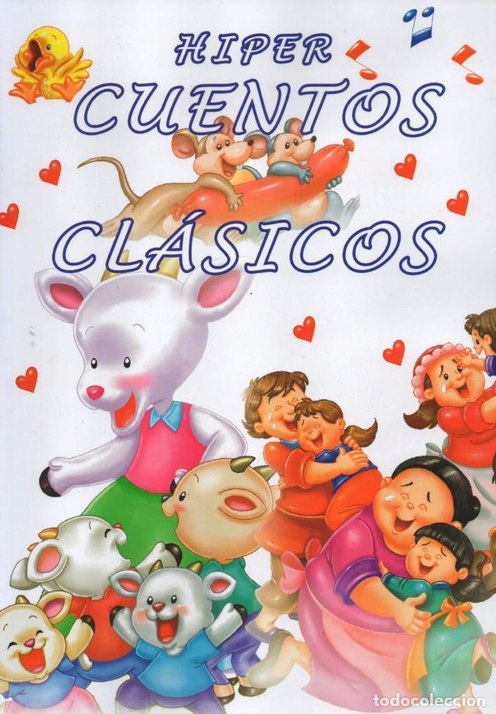 HIPER CUENTOS CLASICOS N. 1 - INCLUYE 4 CUENTOS POPULARES (NUEVO) (Libros Nuevos - Literatura Infantil y Juvenil - Cuentos infantiles)