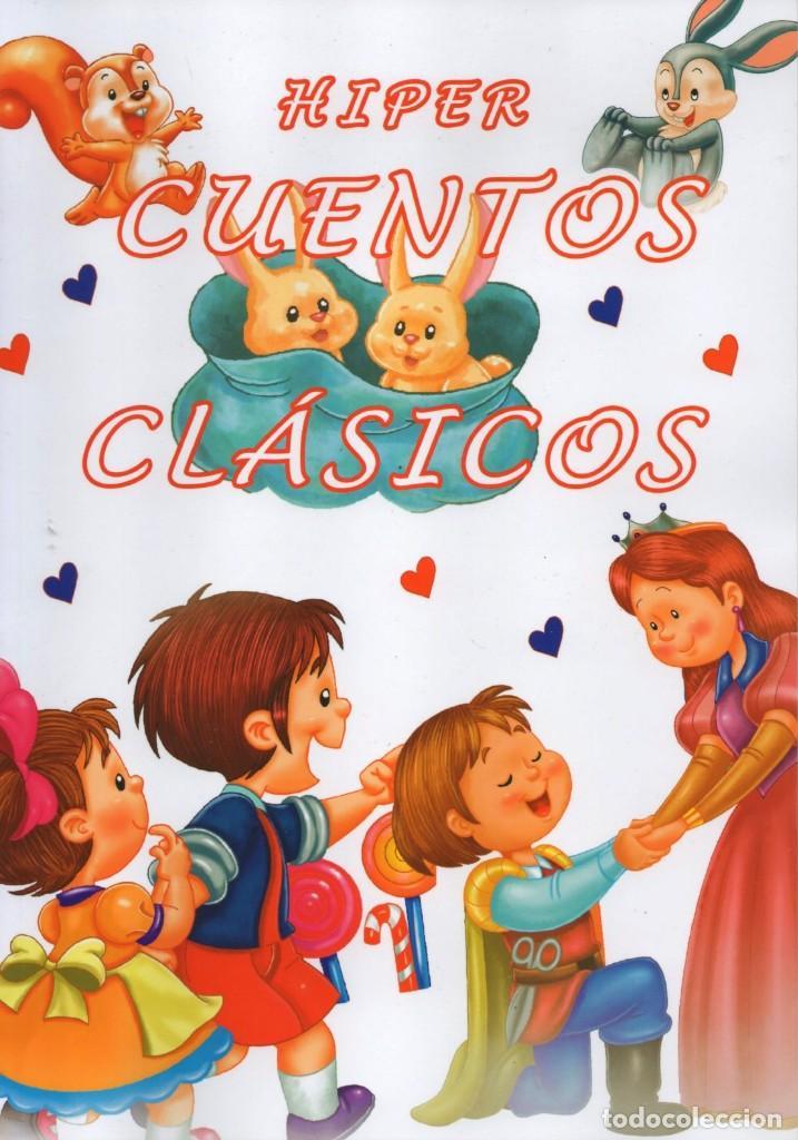HIPER CUENTOS CLASICOS N. 2 - INCLUYE 4 CUENTOS POPULARES (NUEVO) (Libros Nuevos - Literatura Infantil y Juvenil - Cuentos infantiles)