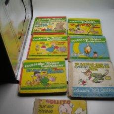 Libros: LOTE 7 LIBROS PARA CHIQUITINES QUE NO SABEN LEER. NIÑOS CAPRICHOSOS Y NO QUERIA, AÑOS 40. Lote 190800767