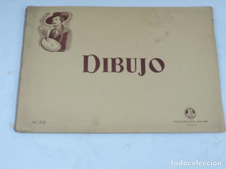 Libros: CUADERNO DE DIBUJOS AÑOS 40 EPOCA DE FRANCO DE NIÑA CON MAPAS ILUSTRADOS DE REGIONES ESPAÑOLAS, MIDE - Foto 17 - 191583195