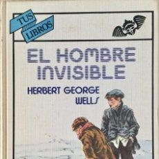 Libros: EL HOMBRE INVISIBLE. ANAYA. REF: AX 485. Lote 194777402