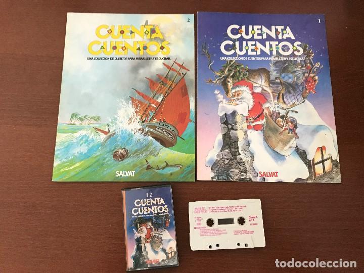 CUENTACUENTOS DE SALVAT CON CINTA DE CASETE - CUENTA CUENTOS PARA MIRAR LEER Y ESCUCHAR (Libros Nuevos - Literatura Infantil y Juvenil - Cuentos infantiles)