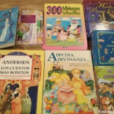 Libros: LOTE 7 LIBROS INFANTILES + 1 DE REGALO. Lote 195509093