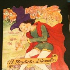 Libros: EL FLAUTISTA D'HAMELIN (TROQUELAT) - IL·LUSTRACIONS MARGARITA RUIZ, CON-BEL, ED. ESIN, 1999. Lote 196130178