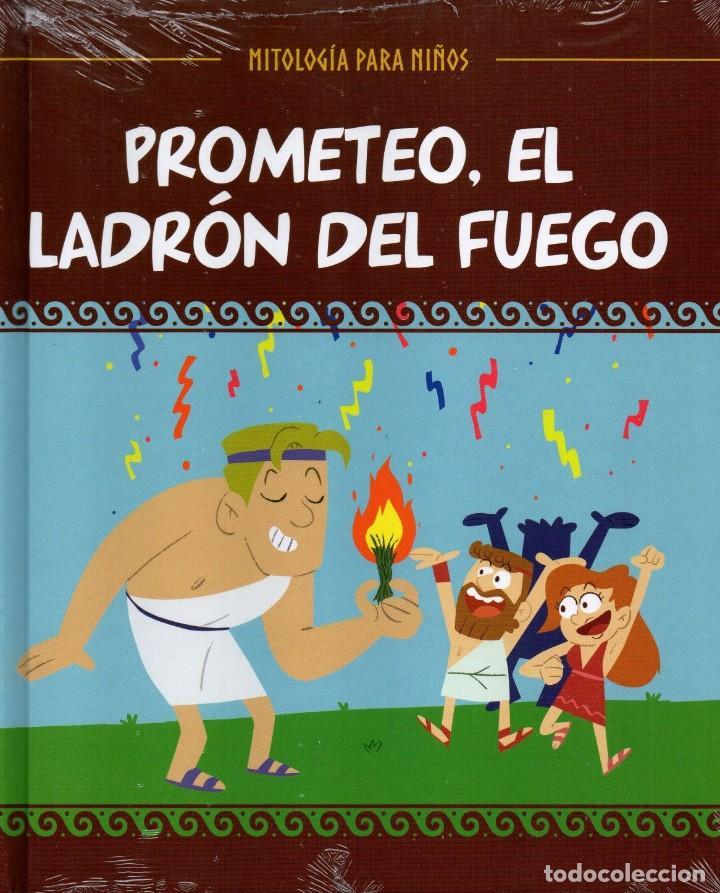 PROMETEO, EL LADRON DEL FUEGO - MITOLOGIA PARA NIÑOS N. 5 (PRECINTADO) (Libros Nuevos - Literatura Infantil y Juvenil - Cuentos infantiles)