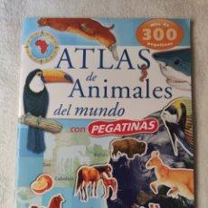 Libros: ATLAS DE ANIMALES DEL MUNDO. SUSAETA. Lote 196879682