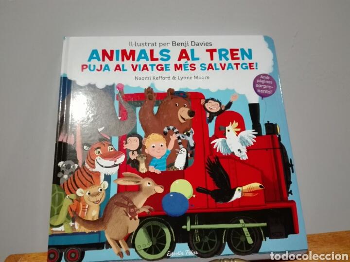 BENJI DAVIES ANIMALS AL TREN. LLIBRES JOC. LIBRO NUEVO. YA DISPONIBLE. ANIMALES AL TREN. EN CATALÁN. (Libros Nuevos - Literatura Infantil y Juvenil - Cuentos infantiles)
