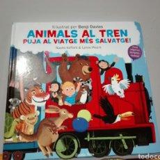 Libros: BENJI DAVIES ANIMALS AL TREN. LLIBRES JOC. LIBRO NUEVO. YA DISPONIBLE. ANIMALES AL TREN. EN CATALÁN.. Lote 196944236