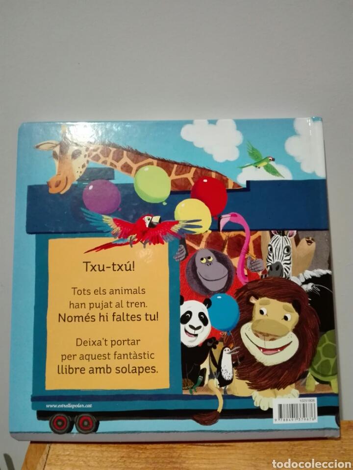 Libros: Benji Davies Animals al tren. Llibres joc. Libro nuevo. Ya disponible. Animales al tren. En catalán. - Foto 2 - 196944236