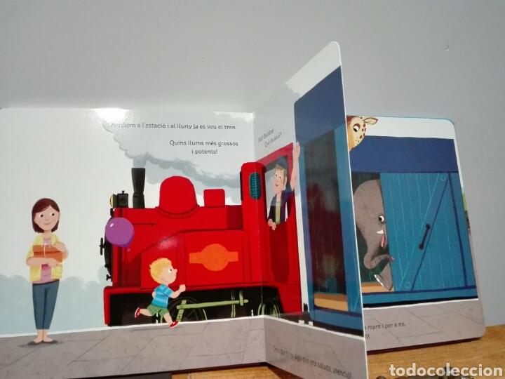 Libros: Benji Davies Animals al tren. Llibres joc. Libro nuevo. Ya disponible. Animales al tren. En catalán. - Foto 3 - 196944236
