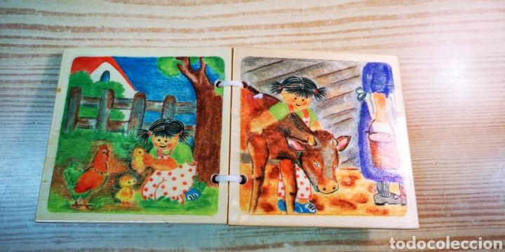 Libros: Cuento infantil de madera por estrenar - Foto 3 - 198293265