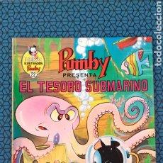 Libros: PUMBY EL TESORO SUBMARINO N°22. Lote 198537651