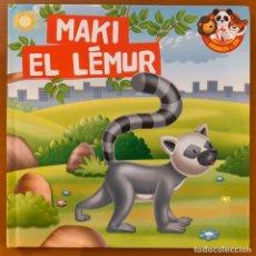 Libros: MAKI EL LÉMUR - INFANTIL. Lote 198625078