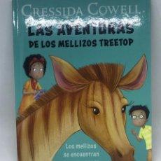 Libros: MCDONALDS - LIBRO LAS AVENTURAS DE LOS MELLIZOS TREETOP. Lote 198753456