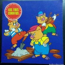 Livros: CUENTO INFANTIL , COMIC, LOS TRES CERDITOS, ALBUM ESTRELLAS, SUSAETA EDICIONES. Lote 200052463