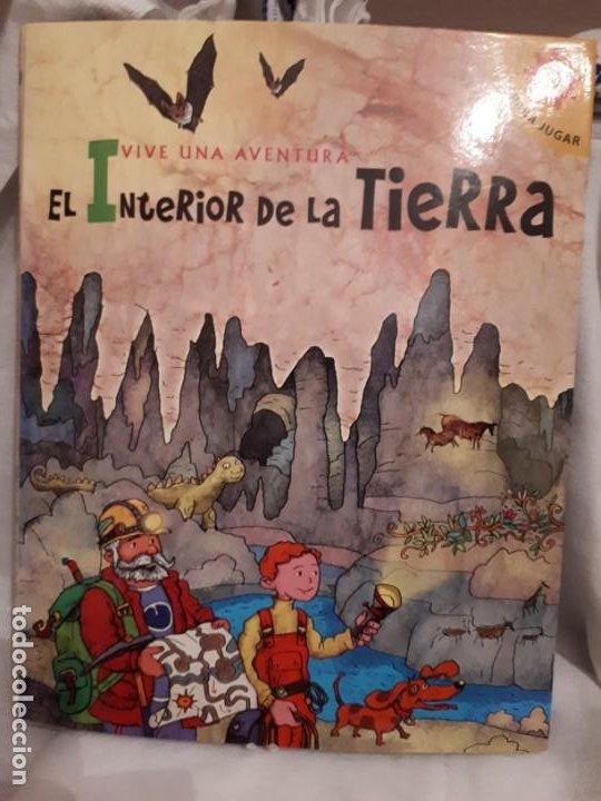INTERIOR DE LA TIERRA,LIBRO POP-UP (Libros Nuevos - Literatura Infantil y Juvenil - Cuentos infantiles)
