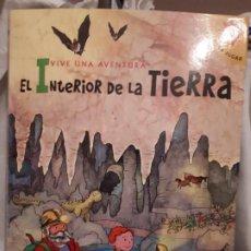 Libros: INTERIOR DE LA TIERRA,LIBRO POP-UP. Lote 200318730