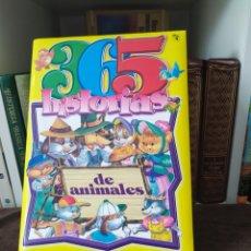 Libros: 365 HISTORIAS DE ANIMALES ESPECIAL NIÑOS A TODO COLOR.. Lote 200359516