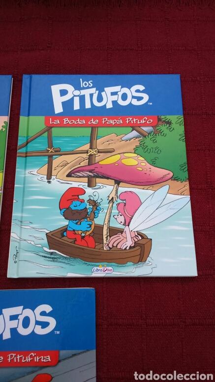 Libros: LOS PITUFOS COMIC O CUENTO PITUFINA, PAPA PITUFO - Foto 3 - 202910898