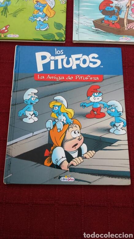 Libros: LOS PITUFOS COMIC O CUENTO PITUFINA, PAPA PITUFO - Foto 4 - 202910898