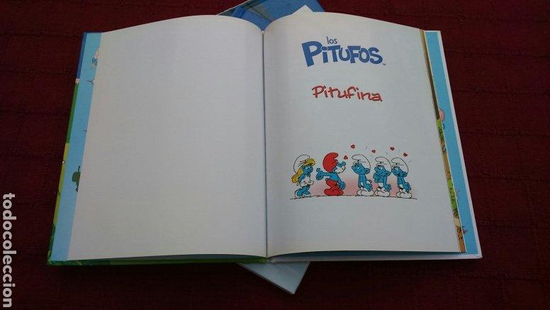 Libros: LOS PITUFOS COMIC O CUENTO PITUFINA, PAPA PITUFO - Foto 10 - 202910898