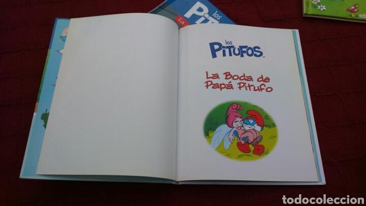 Libros: LOS PITUFOS COMIC O CUENTO PITUFINA, PAPA PITUFO - Foto 11 - 202910898