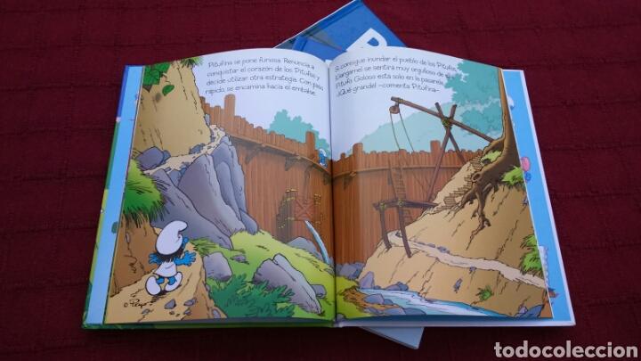 Libros: LOS PITUFOS COMIC O CUENTO PITUFINA, PAPA PITUFO - Foto 13 - 202910898