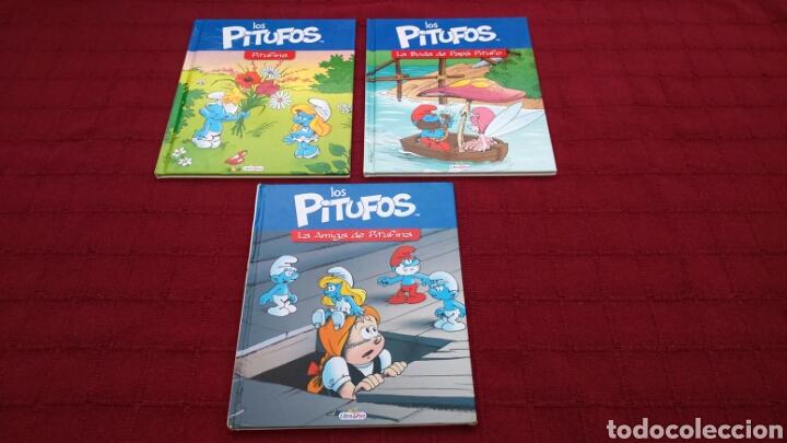 LOS PITUFOS COMIC O CUENTO PITUFINA, PAPA PITUFO (Libros Nuevos - Literatura Infantil y Juvenil - Cuentos infantiles)
