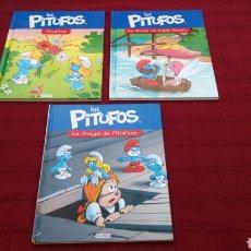 Libros: LOS PITUFOS COMIC O CUENTO PITUFINA, PAPA PITUFO. Lote 202910898