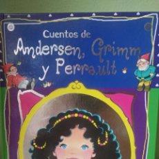 Libros: MARÍA PASCUAL, TOMO CUENTOS DE ANDERSEN, GRIMM Y PERRAULT. Lote 205160261