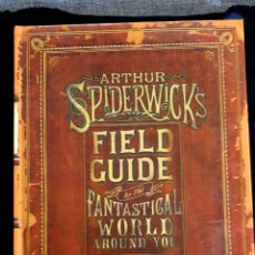 Libros: LIBRO DE ARTE SPIDERWICK. Lote 205901396