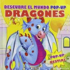 Libros: DESCUBRE EL MUNDO POP UP... DRAGONES. Lote 207281415