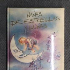 Libros: NANAS DE ESTRELLAS Y LUNAS, MARI LUZ BRAVO Y JUAN TOMAS FRUTOS. CONTIENE CD. NUEVO. Lote 210093703