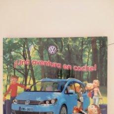 Libros: UNA AVENTURA EN COCHE. CUENTO DE EDIT. EVEREST (2011) PARA VOLKSWAGEN. Lote 211810571